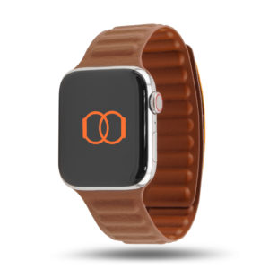 Maillons cuir aimanté - Bracelet Apple Watch