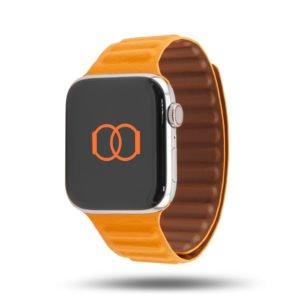 Maillons cuir aimanté - Bracelet Apple Watch