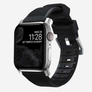 Nomad – Rugged Strap – Bracelet en silicone Apple Watch