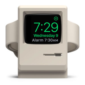 Stand Apple Watch retro Mac 1984