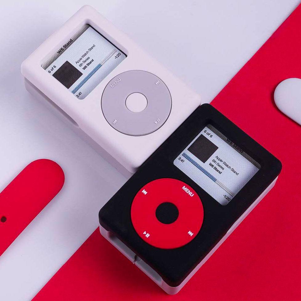 Socle de recharge iPod classique pour Apple Watch