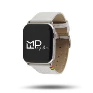 Simple tour édition FMPogba x Éternel – Bracelet cuir Made in France Apple Watch