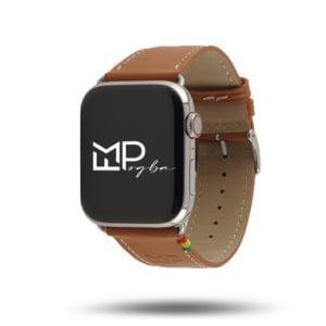 Simple tour édition FMPogba x Éternel - Bracelet cuir Made in France Apple Watch