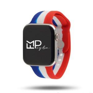 Drapeaux édition FMPogba – Bracelet Apple Watch