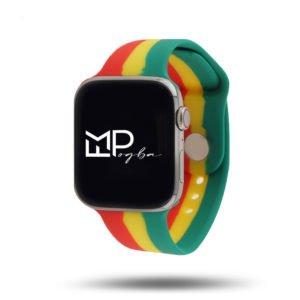 Drapeaux édition FMPogba - Bracelet Apple Watch