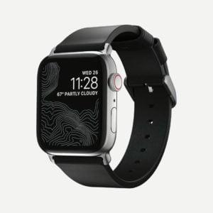 Nomad – Modern Slim 2021 – Bracelet cuir Apple Watch