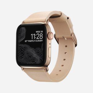 Nomad - Modern Slim 2021 - Bracelet cuir Apple Watch