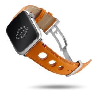 Rallye Apple Watch - Bracelet cuir vachette avec boucle déployante