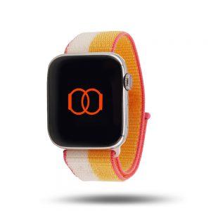 Boucle sport nylon tissé - Automne 2021 - Apple Watch