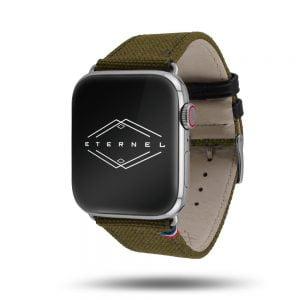 New Rover - Eternel - Bracelet Apple Watch en tissu Made in France