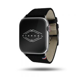 New Rover – Eternel – Bracelet Apple Watch en tissu Made in France