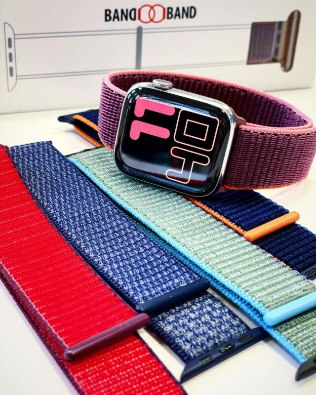 5 nouvelles boucles sport, avec ça plus d'excuses pour ne plus se dépenser 💪🏃🏼‍♀️  #applewatch #apple #applewatchband #watchporn #watchesofinstagram #applewatchfanz #instawatch #loopfin20 #fitness #sport   https://www.band-band.com/produit/boucle-sport-nylon-tisse-fin-2020-apple-watch/