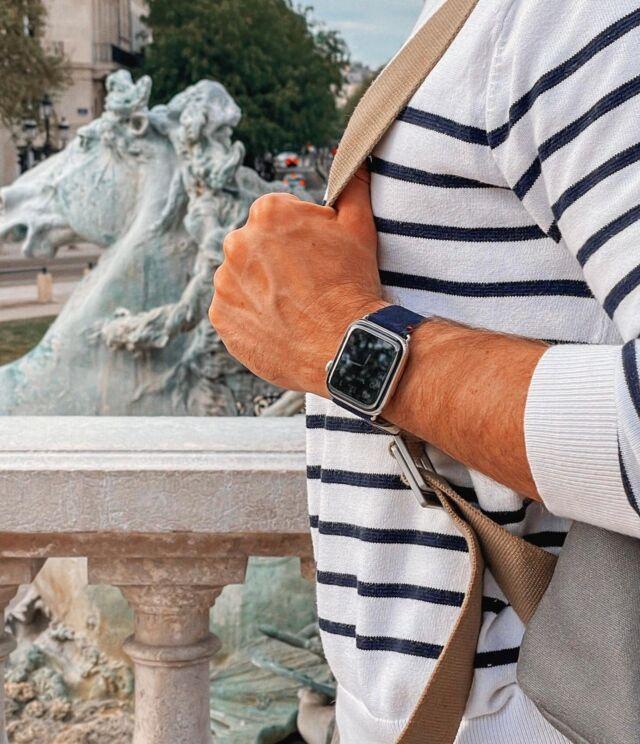 Vous pouvez également profiter de -30% sur notre bracelet en cuir de chèvre velours français, le Maverick 🇫🇷⠀ Toujours avec le code FRENCHDAYS2021 ⠀ #applewatch #apple #applewatchband #watchporn #watchesofinstagram #applewatchfanz #instawatch #fashion #style #photography #photooftheday #picoftheday #model #paris #ootd #moda #fashionblogger #bhfyp #chill #outfit #paris #tourist #instatravel #instaparis #urbanphotography #maverick⠀ ⠀ https://buff.ly/34Agu9R